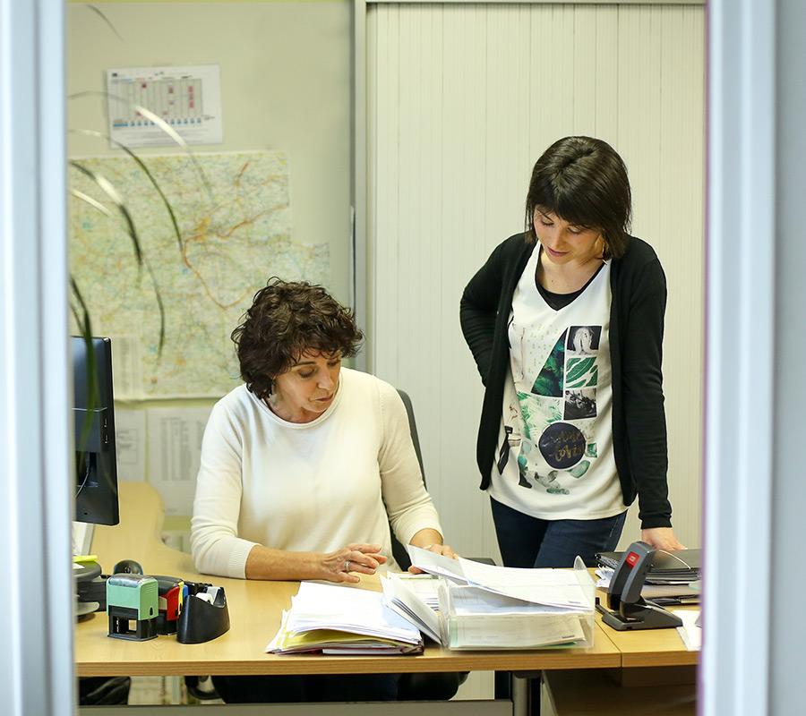 L'équipe Serrault Jardins, des professionnels du paysage à La Ville aux Dames.
