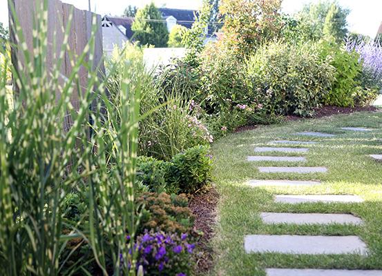 Serrault Jardins conçoit vos allées et accès pour votre jardin.