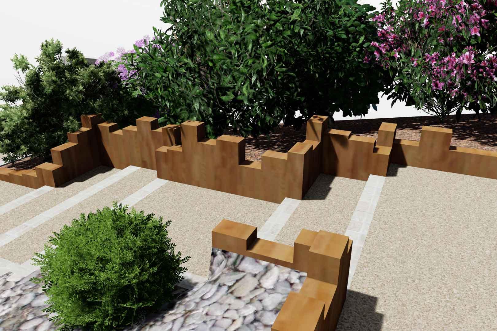 Pour le revêtement de votre allée, Serrault Jardins, paysagiste à la Ville aux Dames.