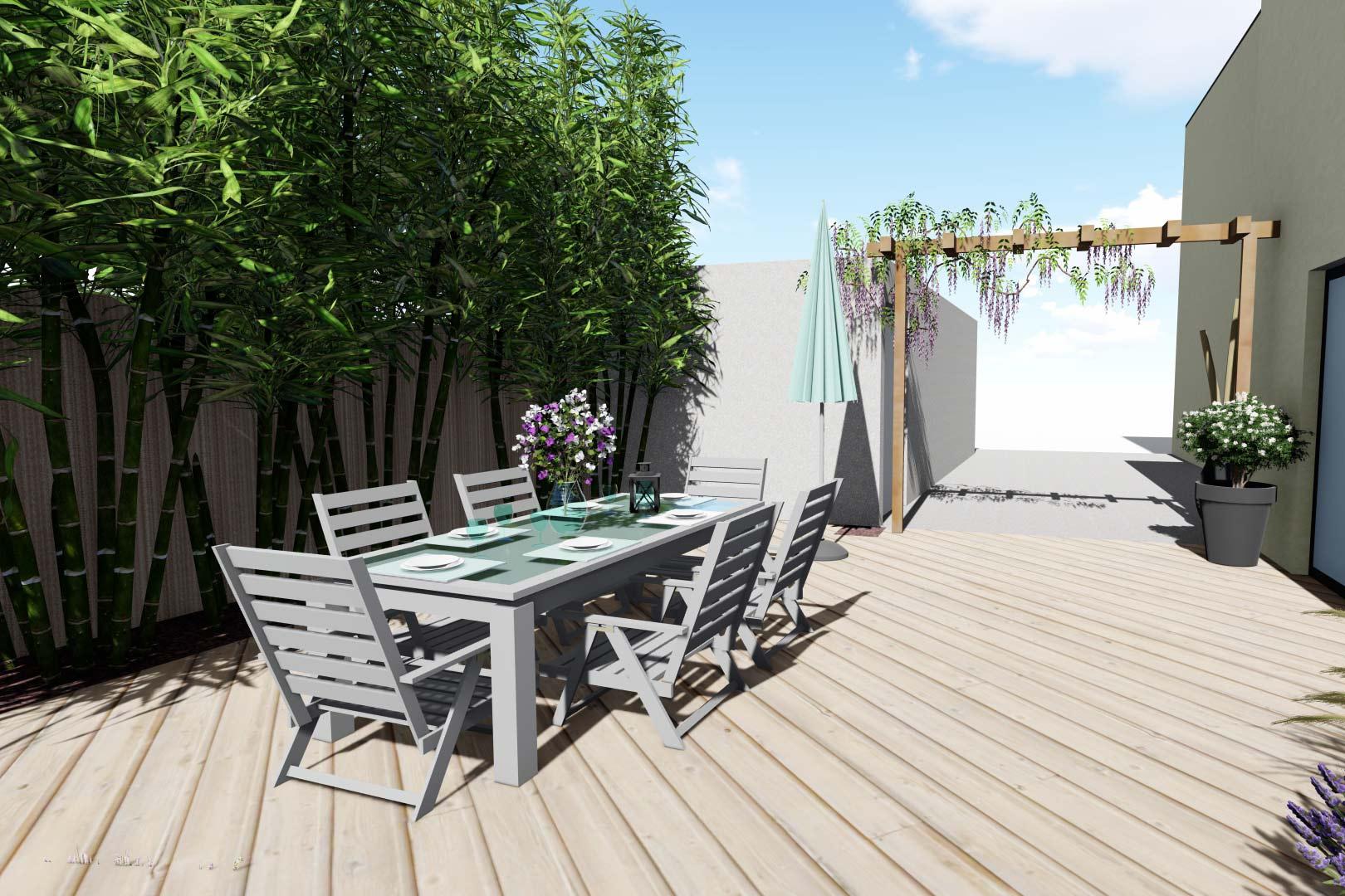 Serrault Jardins, vous propose une large gamme de pergolas.