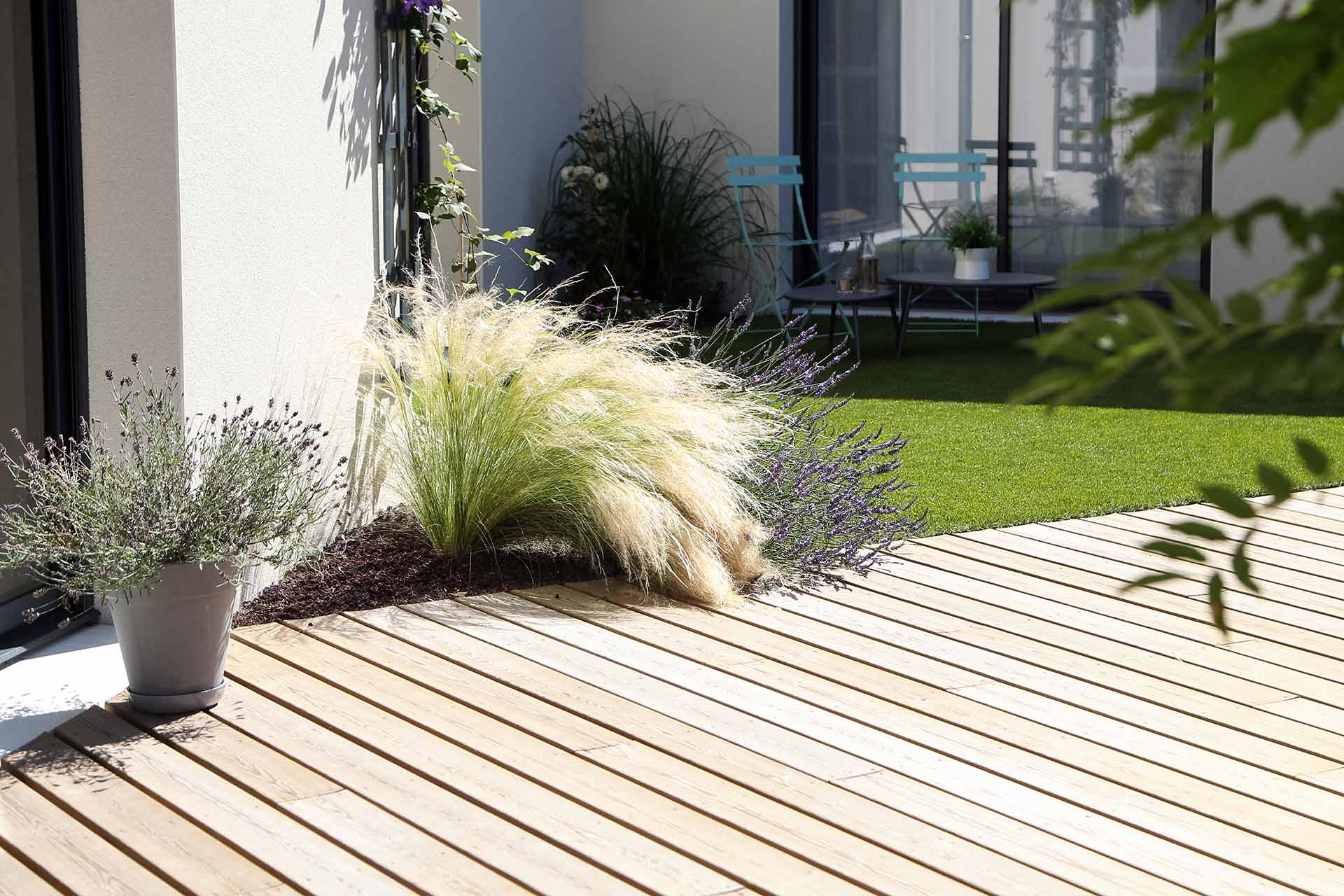 Entreprise du paysage, Serrault Jardins réalise des jardins sur-mesure dans diverses communes comme Chançay.