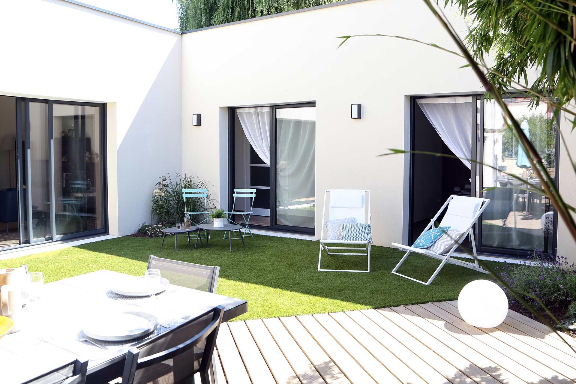 Entreprise du paysage, Serrault Jardins réalise des jardins sur-mesure dans diverses communes comme Bléré.