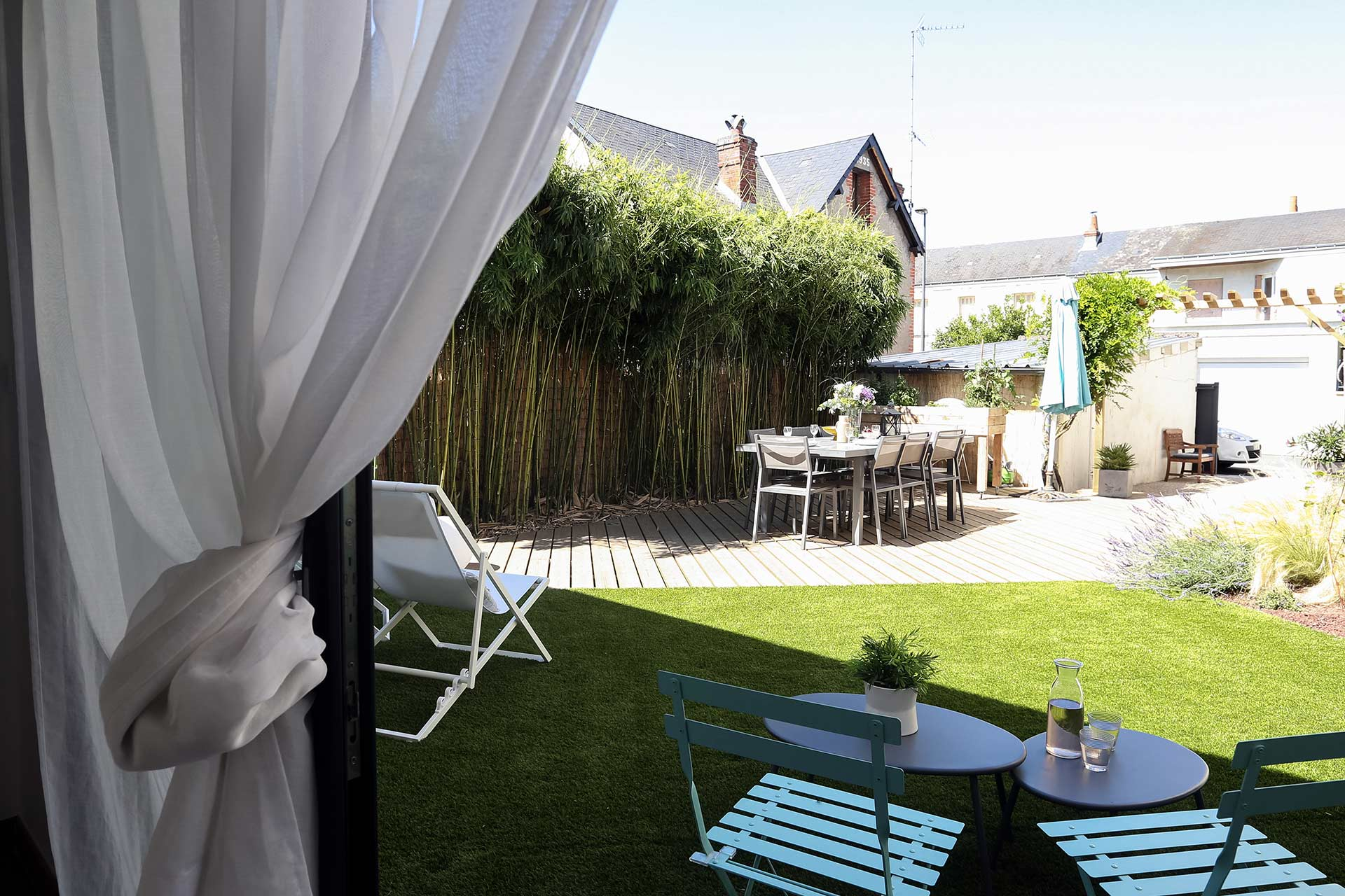 Entreprise du paysage, Serrault Jardins réalise des jardins sur-mesure dans diverses communes comme Chateau-Renault.