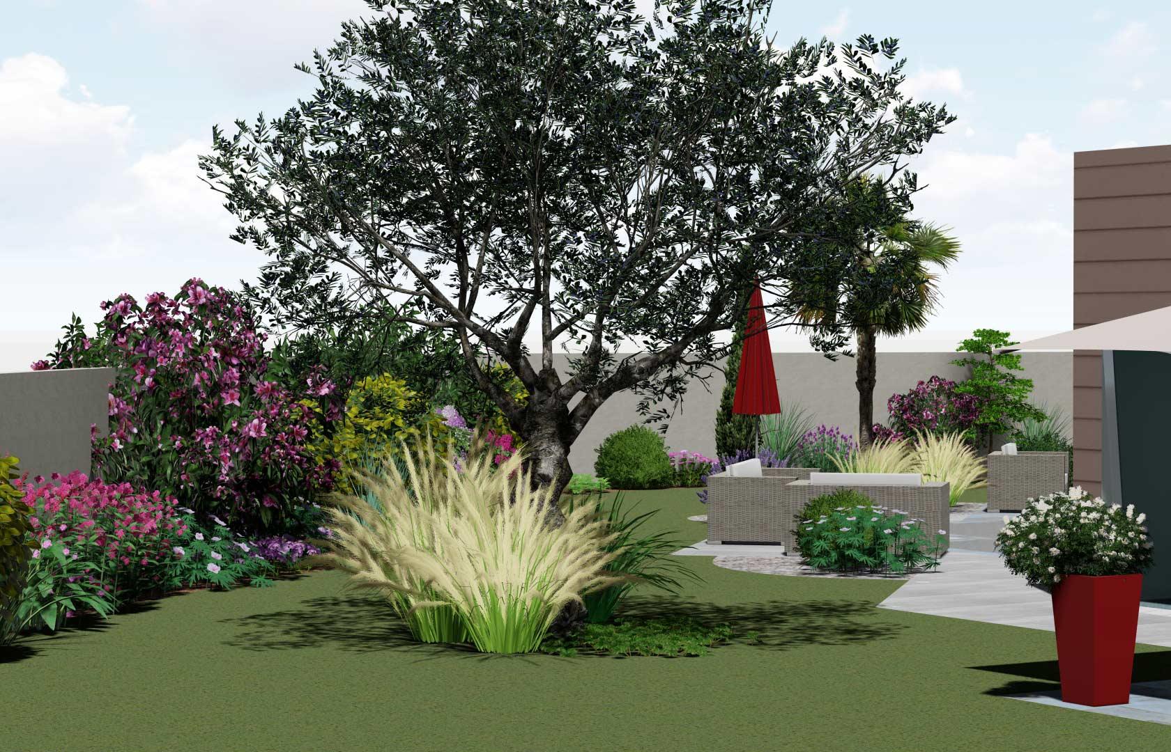 Serrault Jardins, paysagiste sur Tours réalise vos massifs grâce à son expertise de plus de 38 ans.