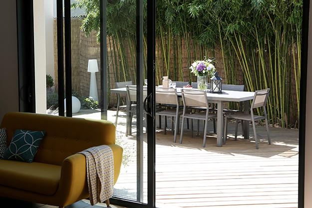 Serrault Jardins réalise des terrasses bois à Tours.