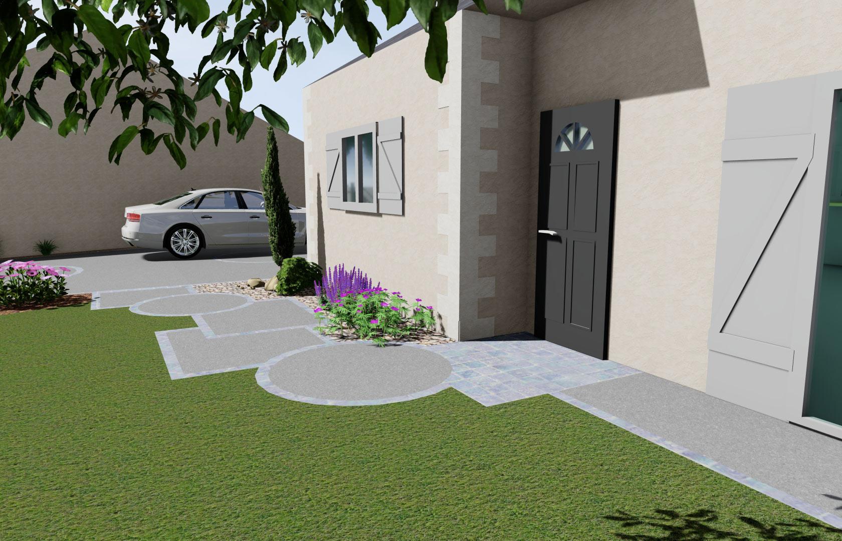 Serrault Jardins, crée des jardins sur mesure.