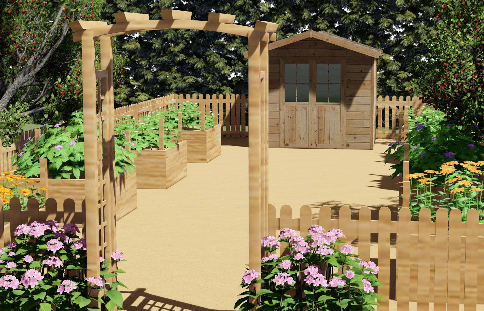 Serrault Jardins, entreprise de paysage depuis 1981 nous réalisons des accès en pavés.