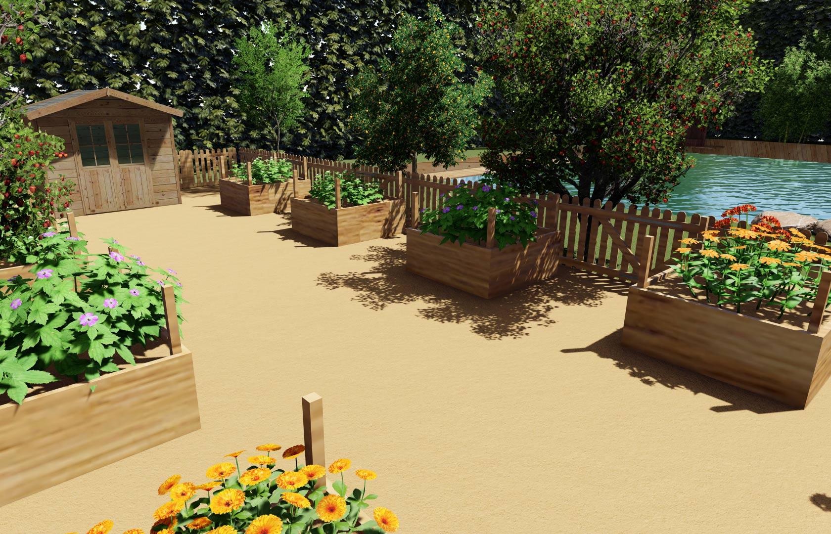 Créateur d'extérieurs, nous concevons votre jardin selon vos besoins.