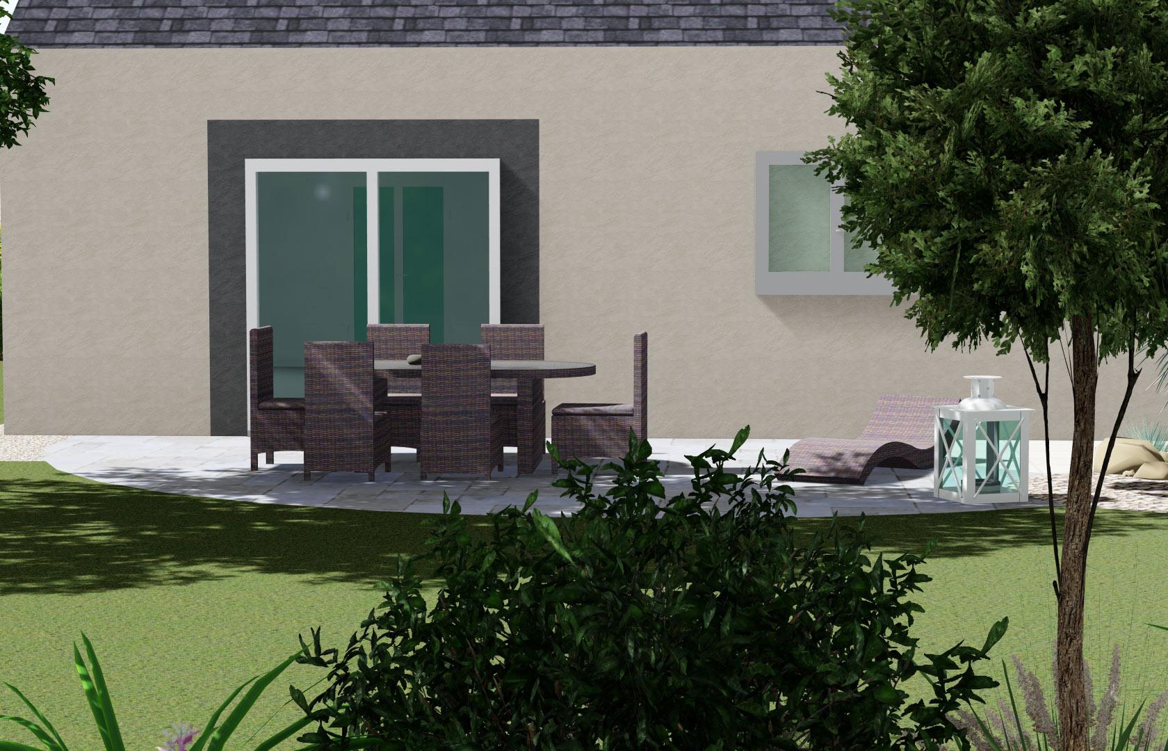 Terrasse en grès céram, ou encore imitation bois, nous vous proposons de nombreuses solutions.