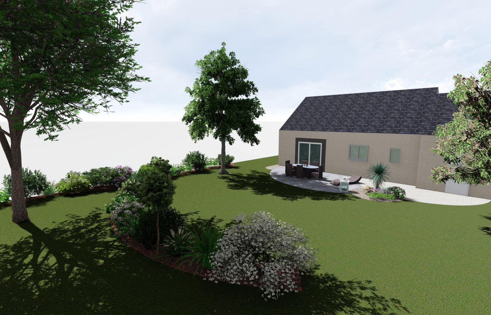 Equipe de professionnels du paysage, Serrault Jardins aménage votre jardin.