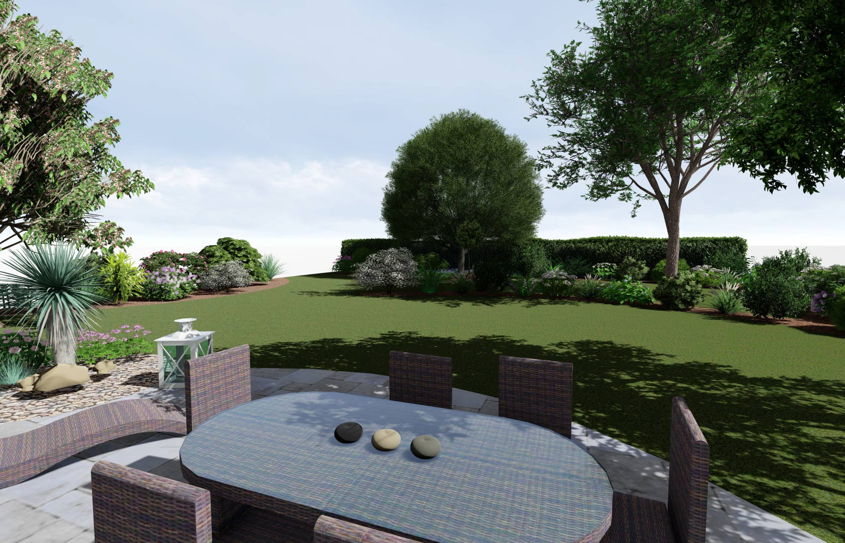 Serrault Jardins aménage votre jardin.