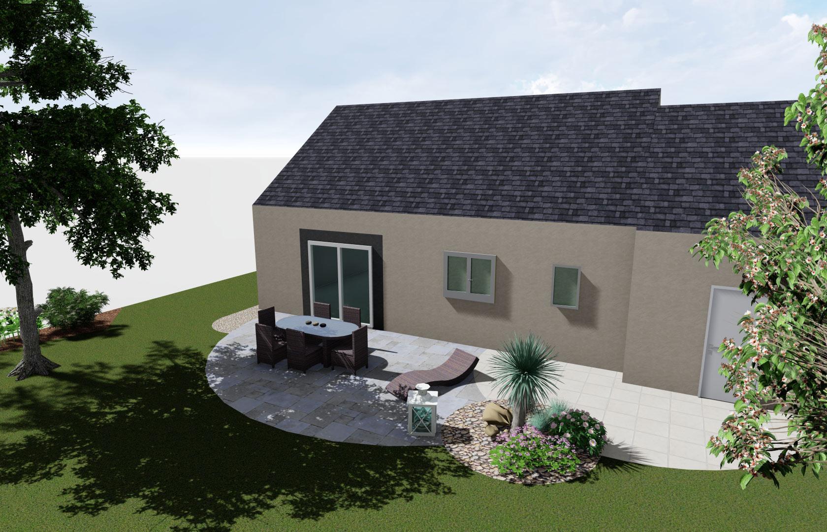Serrault Jardins crée des terrasses dans diverses matériaux.