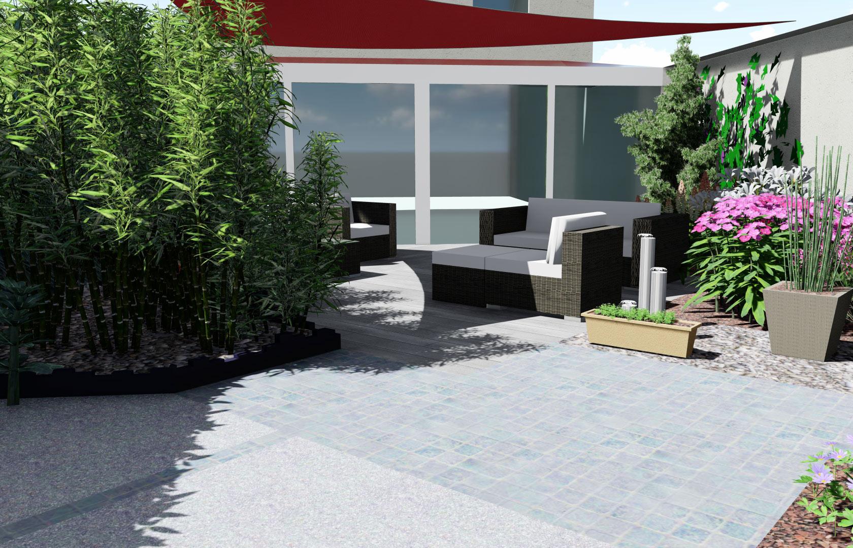 Entreprise du paysage spécialisée dans la création de jardin pour les particuliers.