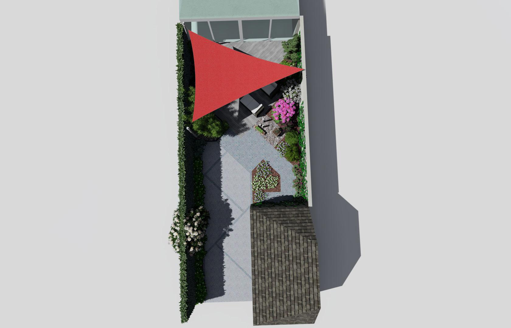 Serrault Jardins vous propose l'aménagement des petits jardins de ville.