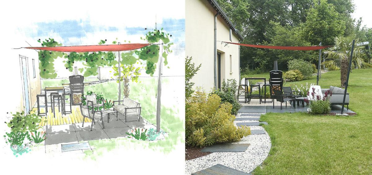 Serrault Jardins réalise votre jardin en Touraine.