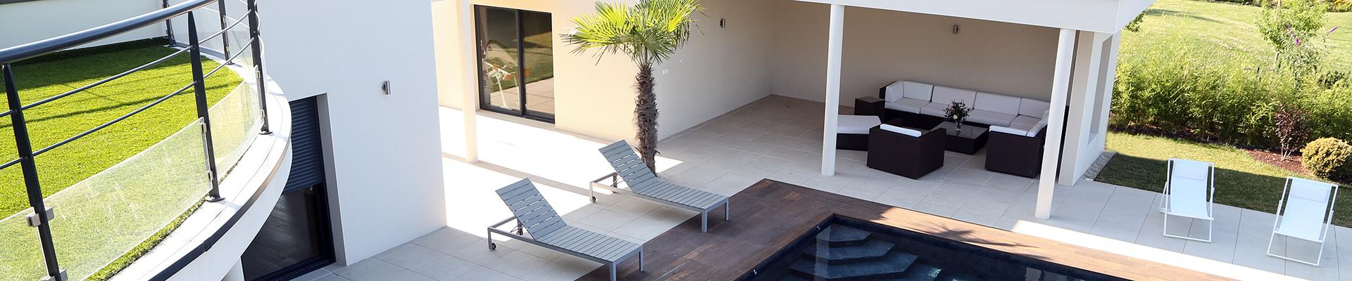 Serrault Jardins, vous propose l'aménagement paysager de votre jardin.